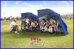 Sport Brella Umbrella Portable Sun Rain Shelter Outdoor Camping Canopy Tent Red