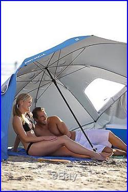 Sport-Brella Umbrella Portable Sun and Weather Shelter (BLUE)