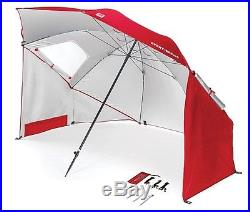 Sport-Brella Umbrella Portable Sun and Weather Shelter, Red