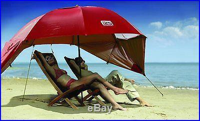 Sport-Brella Umbrella Portable Sun and Weather Shelter (Red)