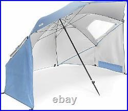 Sport-Brella XL Vented SPF 50+ Sun and Rain Canopy Umbrella (9-Foot, Steel Blue)