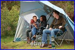 Sport-Brella XL Vented SPF 50+ Sun and Rain Canopy Umbrella for Beach (9-Foot)