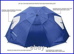 Sport-Brella XL Vented SPF 50+ Sun and Rain Canopy Umbrella for Beach and