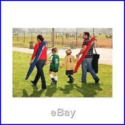 Sport Umbrella Portable Outdoor Sun Beach Shelter Red Weather Shade Canopy New