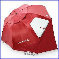 Sportbrella Brella Portable Canopy Sport XL Super 9 Foot Canopy Waterproof Red