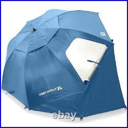 Sportbrella Brella Portable Canopy Sport Xl Super 9 Foot Canopy Blue Waterproof