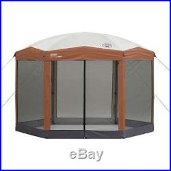 Stable Steel 12 x 10 foot Hex Instant 3 min set up Screened Canopy Gazebo Bag