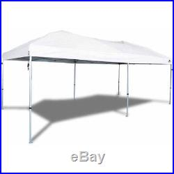 Straight Leg Instant Canopy 20x10 Outdoor Shelter Tent Camping