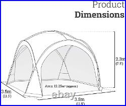 Sun Shelter for 11.5x11.5 Blue Screen House Room Tent Mesh Canopy Camping Trip