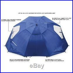 Sun Umbrella Beach UV 8Ft Rain Canopy Spf 50+ Protection Outdoor Sports Event