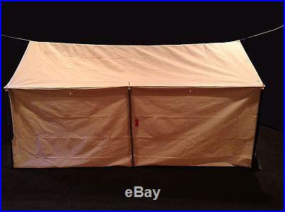 Two man canvas wall tent camping tents and canopies for Wall tent floor