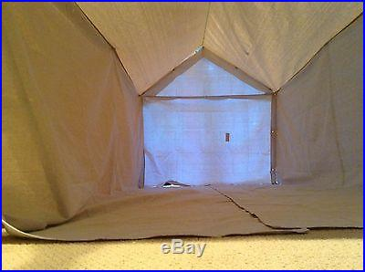 TWO MAN CANVAS WALL TENT
