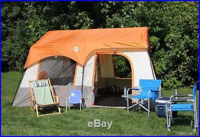 Tahoe Gear Ottawa 12 Person Cabin Frame 3-Season Family Tent