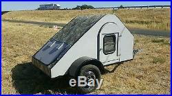 Teardrop trailer extreme for ATV
