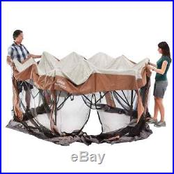 Tent Shelter Instant Screened Camping Canopy Patio Gazebo Sun Beach Protection