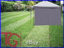 Tent Wall Sun Shade Tarp Wind Rain Protector Straight Leg Canopy Gazebo Camping