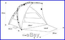Terra Nation Schattendach Reka Kohu Plus Strandmuschel Sonnenschutz Windschutz U