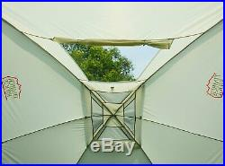 Travel Trailer Canopy Car Camping Tent Cover Sun Shade Portable Outdoor 3 Person
