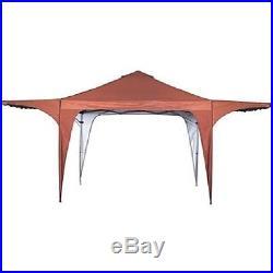 Twin Canopy Awning Backyard Shelter Sun Screen UV Protection Curtain New