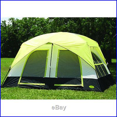 Two-Room Texport Lazy River Cabin Tent Large Two Room Five Person Camping NEW