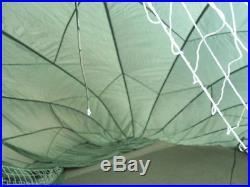 U. S. Military 35 Olive Drab Nylon Personnel Parachute