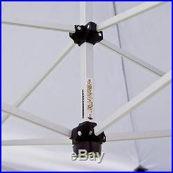 UnderCover 10 x 10 ft. Super Lightweight Aluminum Instant Canopy, White, 10 x 10