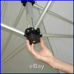 UnderCover 10 x 20 ft. Super Lightweight Aluminum PARTY Instant Canopy, 10 x 20