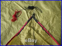VERY RARE MOSS OUTFITTER WING SHELTER TENT TARP, PRE MSR EXCELLENT CONDITION