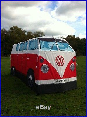 VW Camper Van Tent Volkswagen Bus Camping