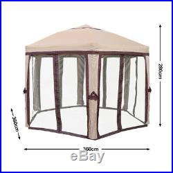 Venture Screen Canopy Shelter Brown