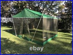 Vintage Eureka Screened Dining Tent 10 X12