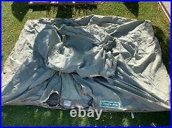 Vintage Springbar 996 Campsite 3 Man Canvas Cabin Tent No Poles Made in USA