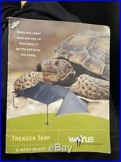 WALRUS Trekker Tarp & Mesh Insert Rare NOS Tent Pre- MSR Shelter 5LBS 2-person