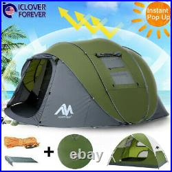 Waterproof Backpacking Tent 2-6 Person Hiking Camping Tent Sun Shelter Family
