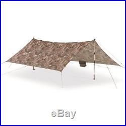 Waterproof Tarp Pocket Storage Lightweight Hiking Camping Sun Shade Shelter