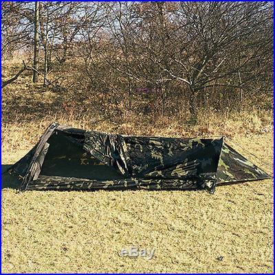 Woodland Camo One Man Bivouac Shelter Tent