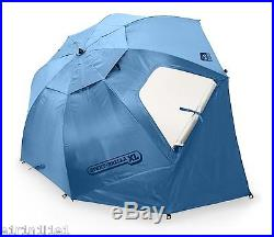 X-Large Umbrella Portable Sun and Weather Shelter Sport Brella Blue 9 Feet Wide