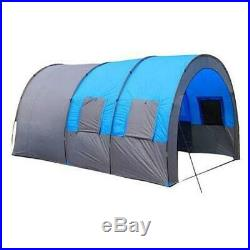 Xmund XD-ET4 Camping Tent 8-10 People Waterproof Double Layer Large Family Tent