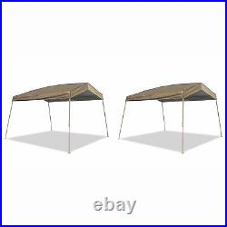 Z-Shade 12 x 14 Foot Panorama Pop Up Canopy Tent Outdoor Shelter Tent (2 Pack)
