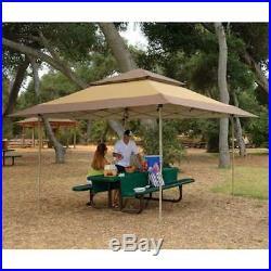 Z-Shade 13 x 13 Foot Gazebo Canopy Outdoor Patio Shelter, Tan Brown (Defective)