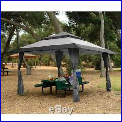 Z-Shade 13 x 13 Foot Instant Gazebo Canopy Tent Outdoor Patio Shelter (Used)