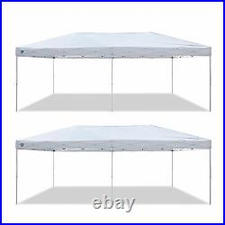 Z-Shade 20 x 10 Foot Everest Instant Canopy Outdoor Patio Shelter (2 Pack)