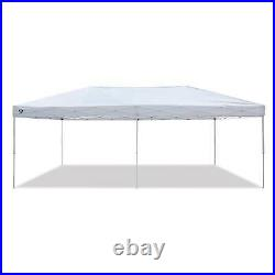 Z-Shade 20x10 Ft Everest Instant Canopy Camping Patio Shelter, White (Open Box)