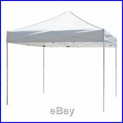 Z-Shade Venture 10 x 10 Foot Lawn, Garden & Event Outdoor Portable Canopy, White